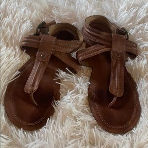 CUTE! Frye leather sandals size 7.5